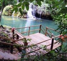 Estância Mimosa Ecoturismo recebe melhorias na Cachoeira do Sinhozinho