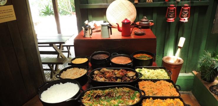 Gastronomia é um dos diferenciais da Estância Mimosa Ecoturismo