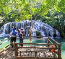 Estância Mimosa está aberta para visitação turística